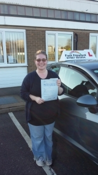 well done jo a well deserved pass today and only 3 minors Be safe