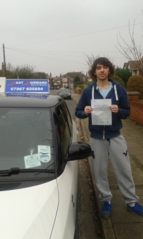 excellent 1st time pass today be safe