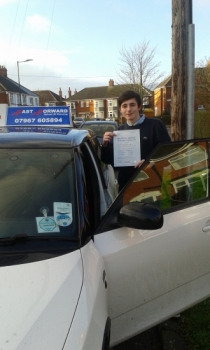 Well done fella an excellant result only 2 minors