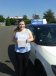Abbie Heath passed with Fast Forward Driving School