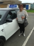 Kelly-Marie Pearce 061113 passed with Fast Forward Driving School