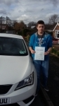 Liam Atkinson passed with Fast Forward Driving School