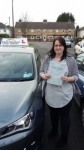 Millie 06022017 passed with Fast Forward Driving School
