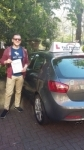 Oliver Hirsch 09/06/2016 passed with Fast Forward Driving School