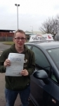Ryan Shreeve passed with Fast Forward Driving School