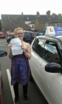 Alice passed with Fast Forward Driving School