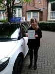 Antonella 01/05/2014 passed with Fast Forward Driving School