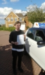 Dan Webster24 sept 2015 passed with Fast Forward Driving School