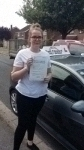 Ellie passed with Fast Forward Driving School