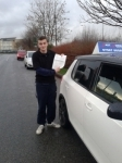 Harry 28/01/14 passed with Fast Forward Driving School