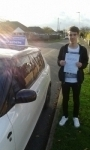 Harry Pask passed with Fast Forward Driving School