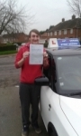 Jacob nixon passed with Fast Forward Driving School