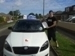 Jarred test pass 30/07/12 passed with Fast Forward Driving School