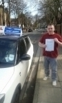 Keith Birkett passed with Fast Forward Driving School