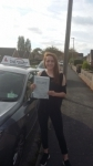 laura passed with Fast Forward Driving School