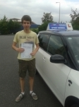Lewis passed with Fast Forward Driving School
