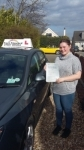 megan 160317 passed with Fast Forward Driving School