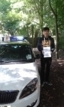 Nick Kong 25 sept 2015 passed with Fast Forward Driving School