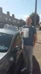 Nick weatherill passed with Fast Forward Driving School