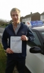 Ryan Casey passed with Fast Forward Driving School