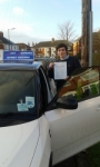 Sam Ward passed with Fast Forward Driving School