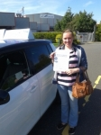 Sian Kennedy 27/08/14 passed with Fast Forward Driving School