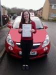 Amie passed with Brake Or Bump Driving