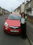 Amy passed with Brake Or Bump Driving