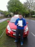 Anthony Dunn passed with Brake Or Bump Driving