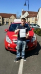 Daniel James passed with Brake Or Bump Driving