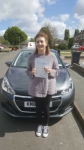 Danielle Stevens passed with Brake Or Bump Driving