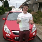 David passed with Brake Or Bump Driving