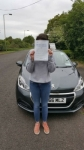 Ellie Blay passed with Brake Or Bump Driving