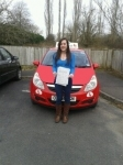 Emma passed with Brake Or Bump Driving