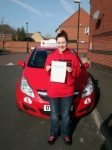 Hannah passed with Brake Or Bump Driving