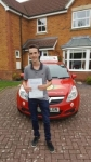 James Keen  passed with Brake Or Bump Driving