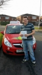 Jason Wilcox passed with Brake Or Bump Driving