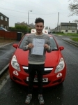 Josh Miles passed with Brake Or Bump Driving