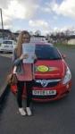 Megan Edginton passed with Brake Or Bump Driving
