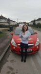 Melissa Mapstone passed with Brake Or Bump Driving