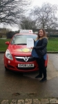 Nikita Hastie passed with Brake Or Bump Driving