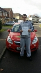 Paul Jefferies passed with Brake Or Bump Driving