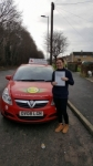 Sophie Barrett passed with Brake Or Bump Driving