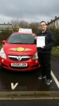 Ted Rowe passed with Brake Or Bump Driving