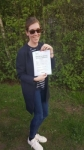 Tilly passed with Brake Or Bump Driving