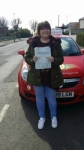Trudie Trotman passed with Brake Or Bump Driving