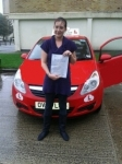 Vanessa passed with Brake Or Bump Driving