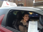 LAUREN GEMMELL/ CARRICKSTONE passed with Learner2pass