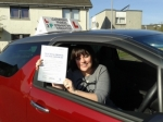 NATALIE OMAND,CUMBERNAULD passed with Learner2pass