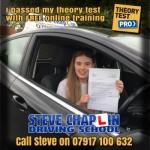 Amelia Burton passed with Steve Chaplin Driving School